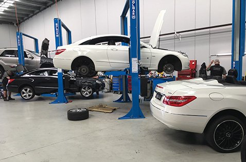 Mercedes-Benz Richmond service