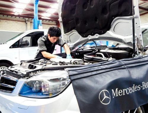 A Mercedes-Benz mechanic in Fairfield explains OEM parts