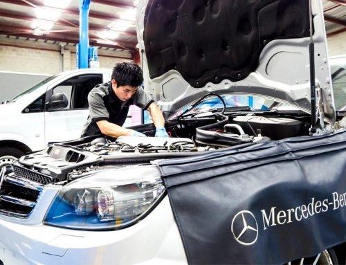 A Mercedes-Benz mechanic in Fairfield explains OEM parts