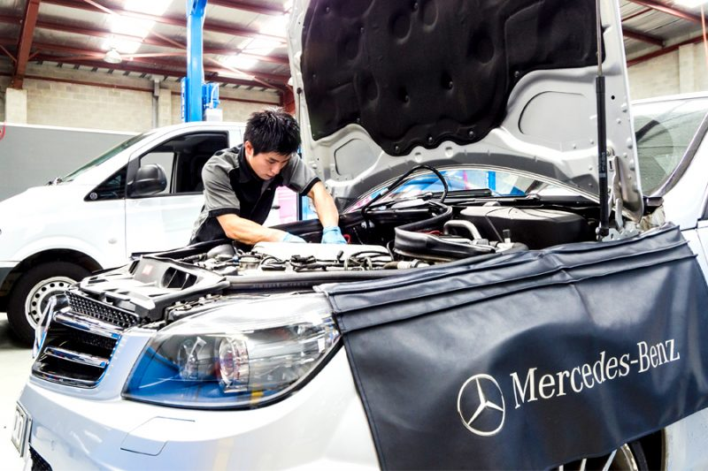 mercedes benz mechanic fairfield