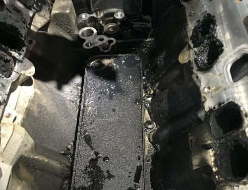 Does your Mercedes-Benz have an oil cooler leak?